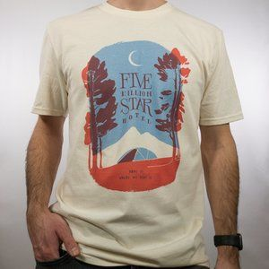 Five Billion Star Hotel Graphic Tee T-Shirt S M L